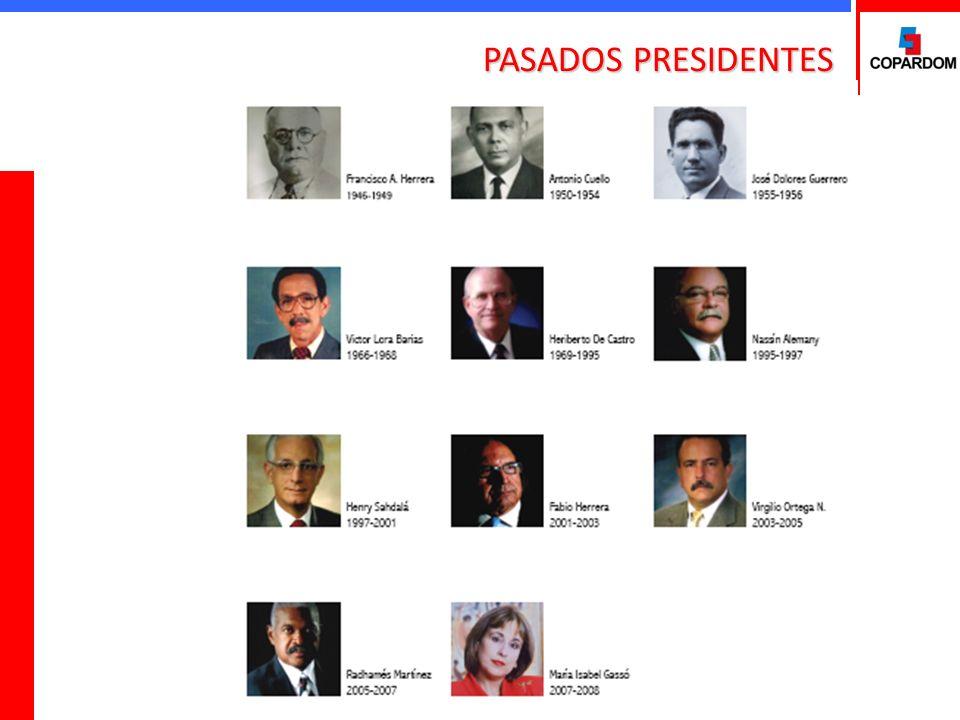 PASADOS PRESIDENTES