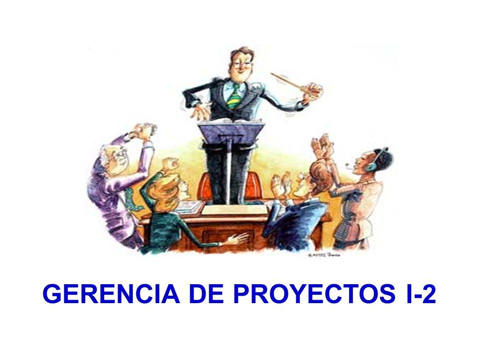 GERENCIA DE PROYECTOS I-2
