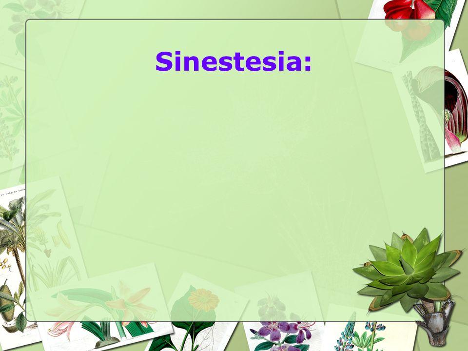 Sinestesia: