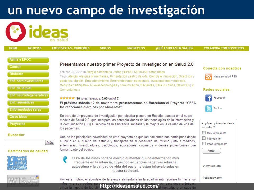 un nuevo campo de investigación http://ideasensalud.com/