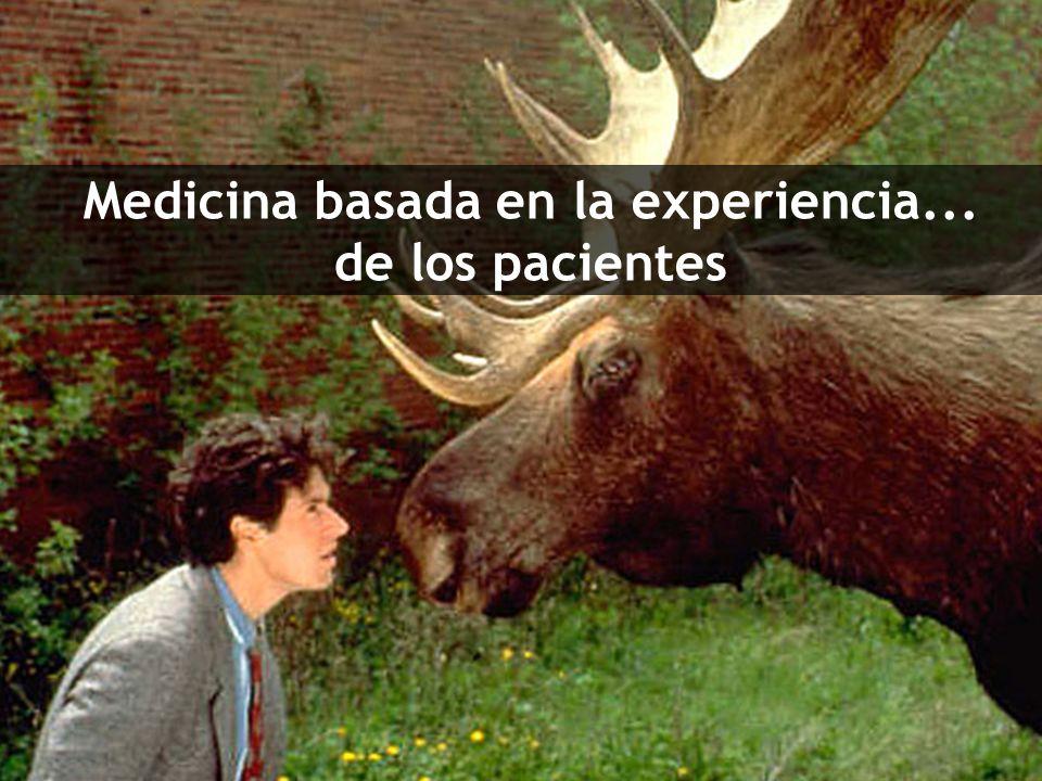 Medicina basada en la experiencia... de los pacientes