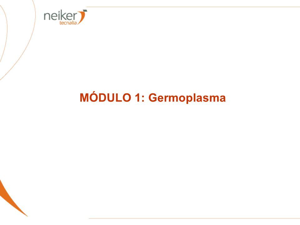 MÓDULO 1: Germoplasma