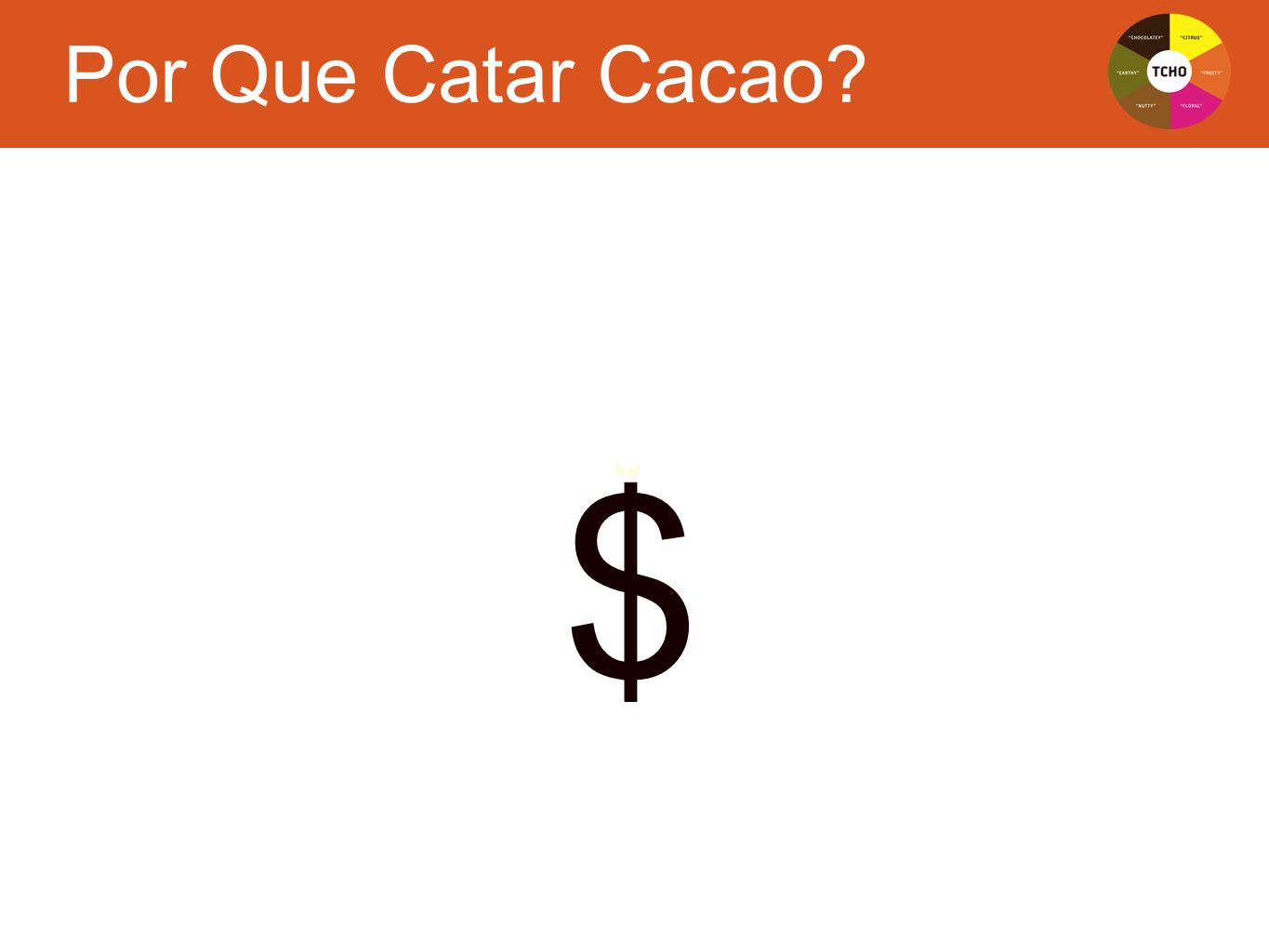 Text $ Por Que Catar Cacao?