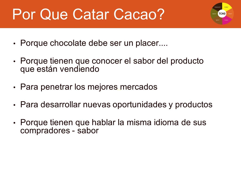 Text Porque chocolate debe ser un placer.... Porque tienen que conocer el sabor del producto que están vendiendo Para penetrar los mejores mercados Pa
