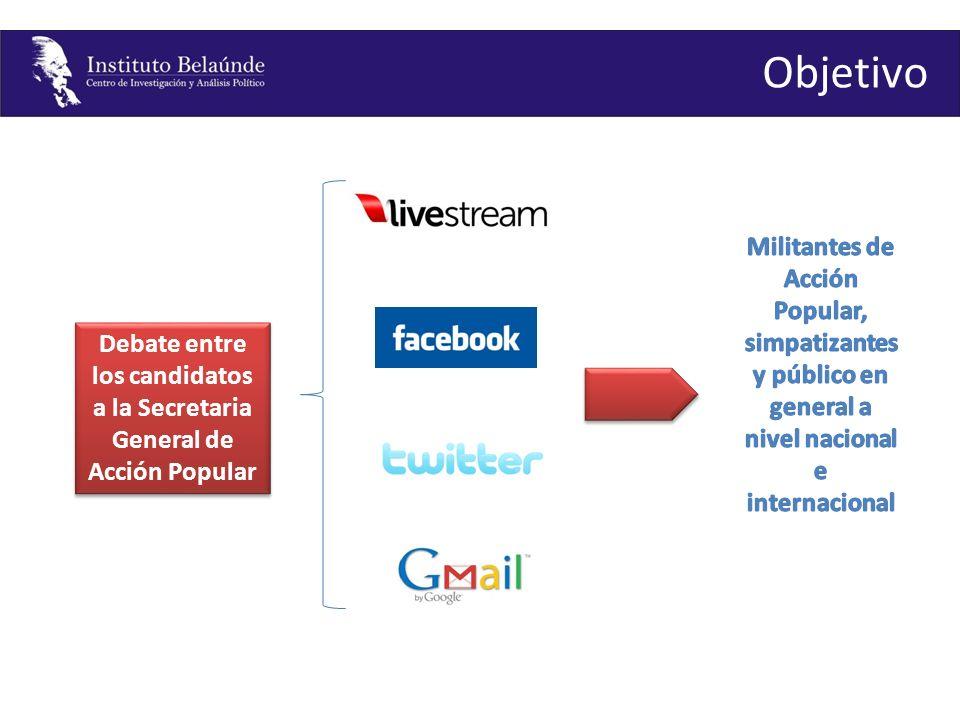 http://www.facebook.com/pages/Partido-Accion-Popular/132005566203 Mecanismos de difusión