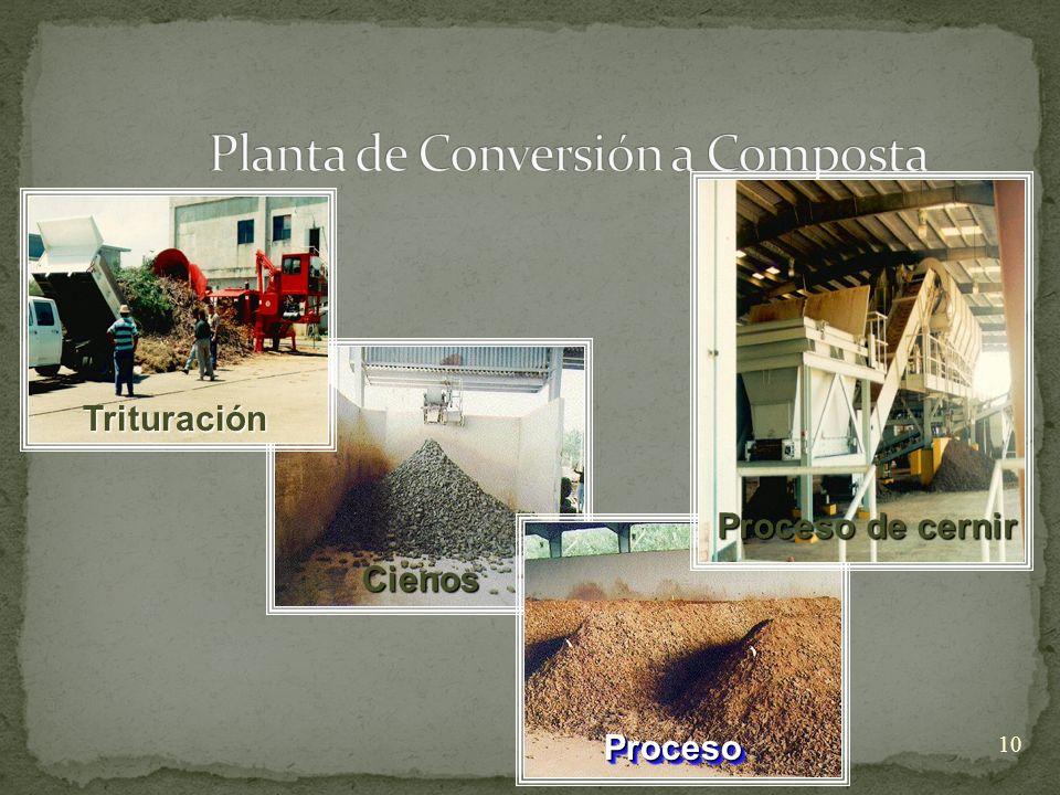 10 Cienos Trituración ProcesoProceso Proceso de cernir
