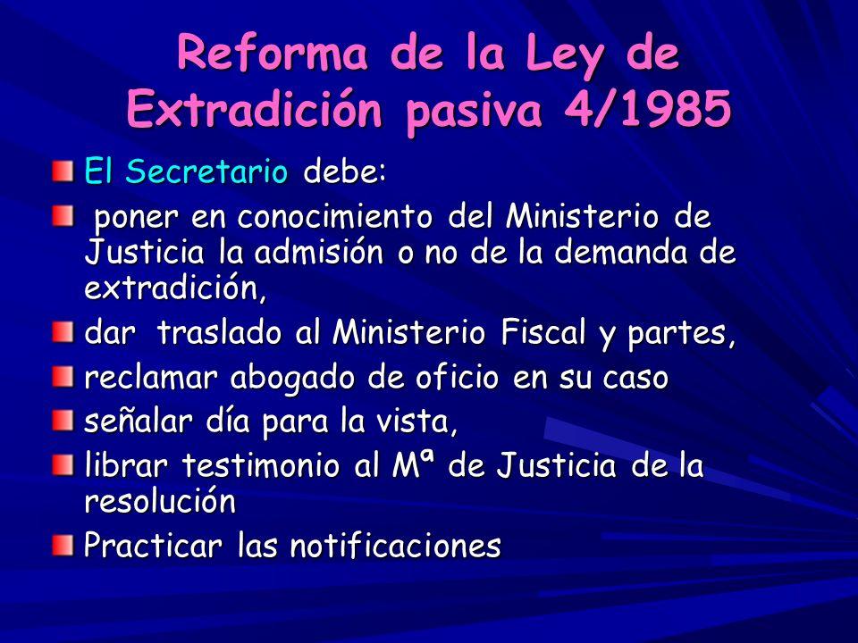 Reforma de la Ley 35/95 de Ayudas y Asistencia a las Víctimas de Delitos Violentos y contra la Libertad Sexual Art.