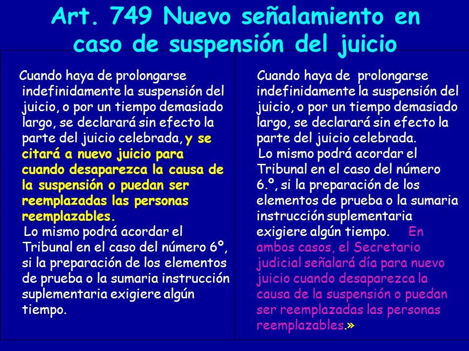 ART.808 Señalamiento procedimiento por delitos de injurias y calumnias.