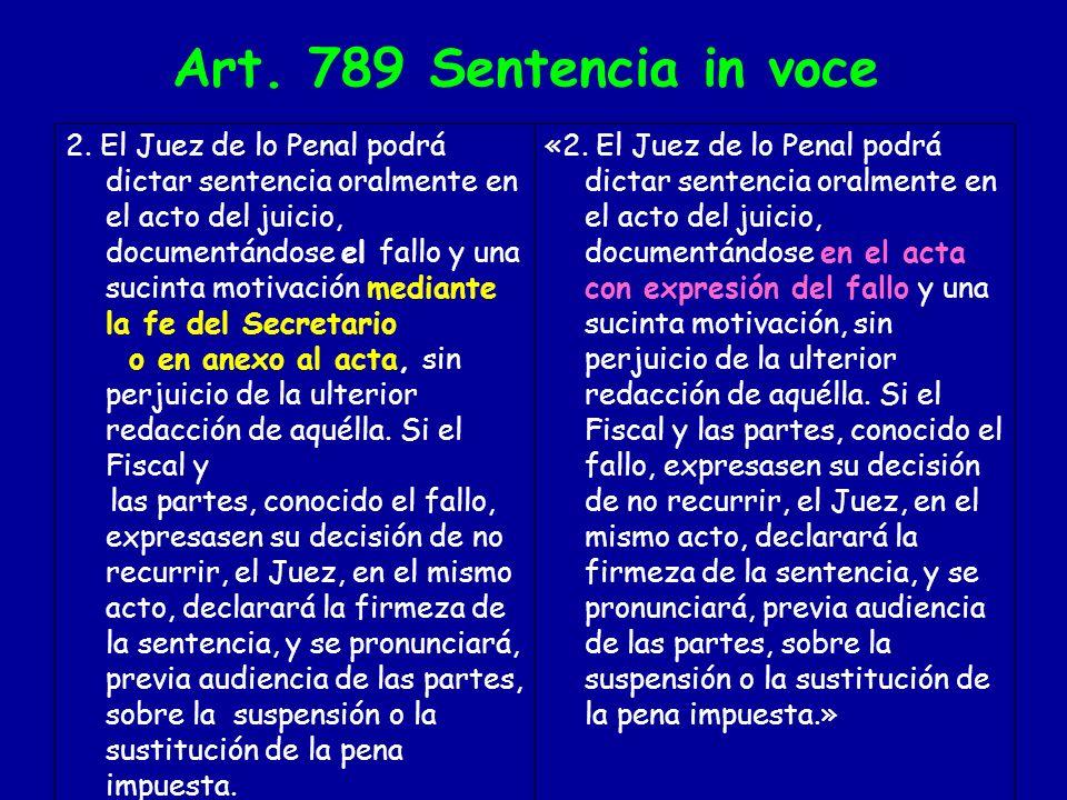 ART.802 Nuevo señalamiento «2.