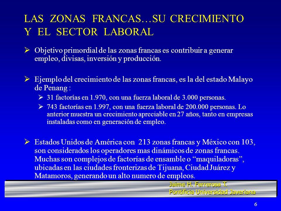 17 COLOMBIA…LA NECESIDAD DE IMPULSAR SECTOR INDUSTRIAL NO TRADICIONAL 5.787 empresas generan las divisas con que contribuye el sector no tradicional al comercio internacional colombiano.