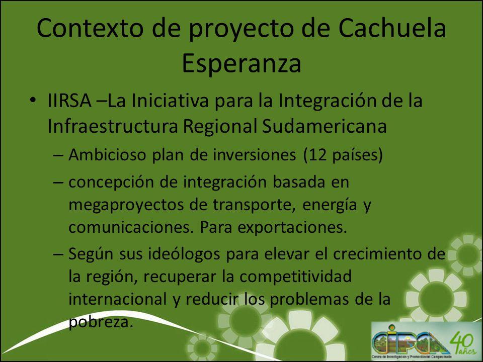 Complejo Madera Segundo rio más importante de la amazonia continental El caudal del 95% de ríos bolivianos Contexto de proyecto de Cachuela Esperanza