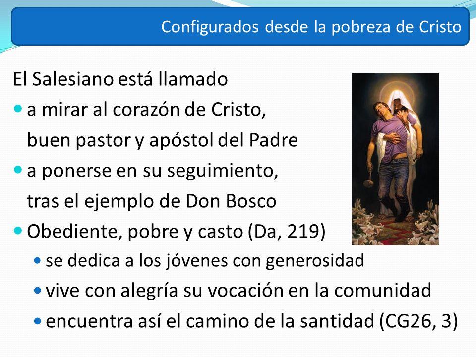 El Salesiano está llamado a mirar al corazón de Cristo, buen pastor y apóstol del Padre a ponerse en su seguimiento, tras el ejemplo de Don Bosco Obed