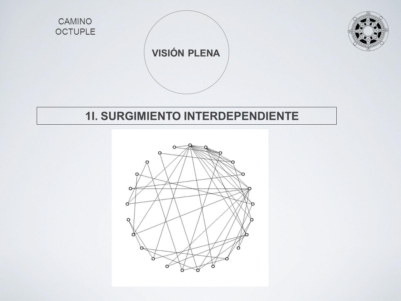 CAMINO OCTUPLE VISIÓN PLENA 1I. SURGIMIENTO INTERDEPENDIENTE