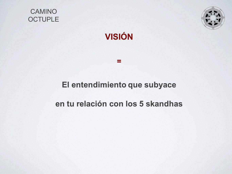 CAMINO OCTUPLE VISIÓN PLENA III.