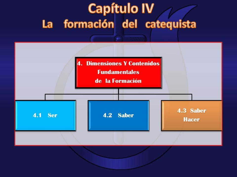4. Dimensiones Y Contenidos Fundamentales de la Formación 4.1 Ser4.2 Saber 4.3 Saber Hacer