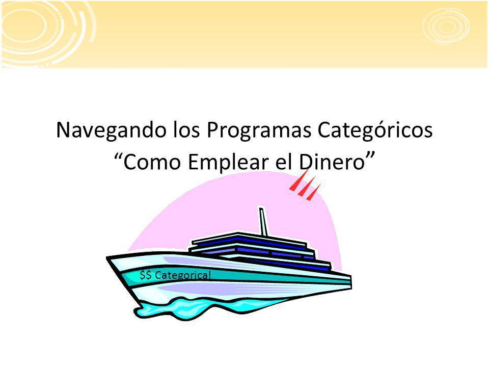 Navegando los Programas Categóricos Como Emplear el Dinero $$ Categorical