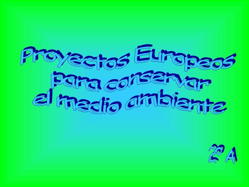 Índice.Autores. Proyectos Europeos. Medio Ambiente.