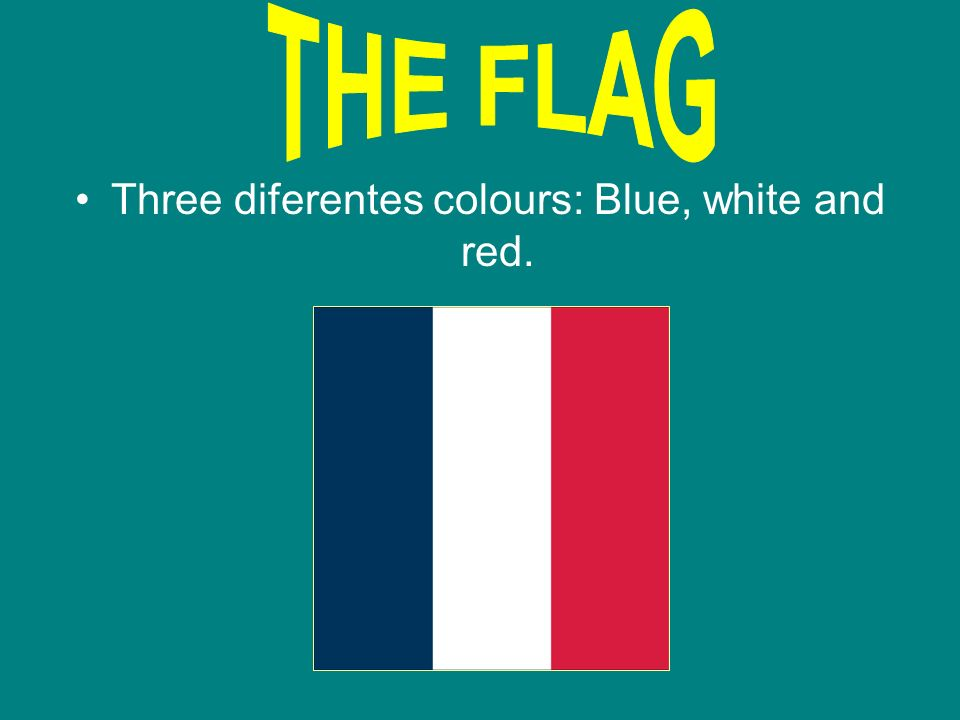 Now, we are going to tell you about stereotyps. THE FLAG: THE COIN: