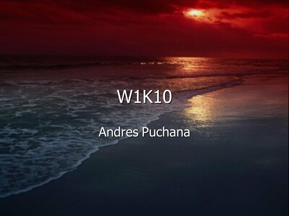 W1K10 Andres Puchana