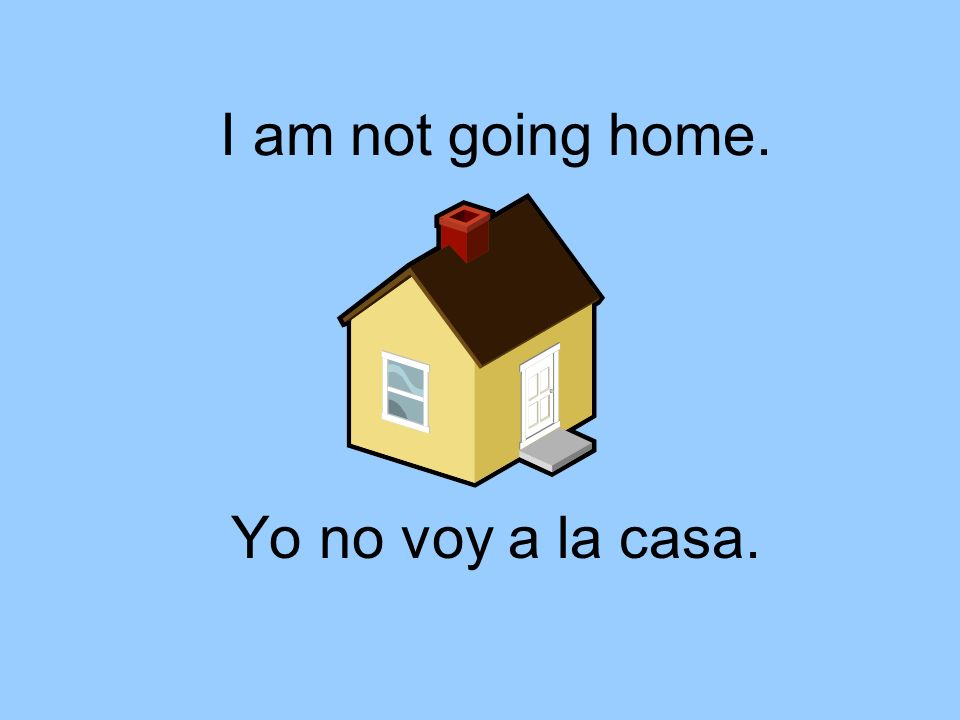 You are going to the library. Tú vas a la biblioteca.