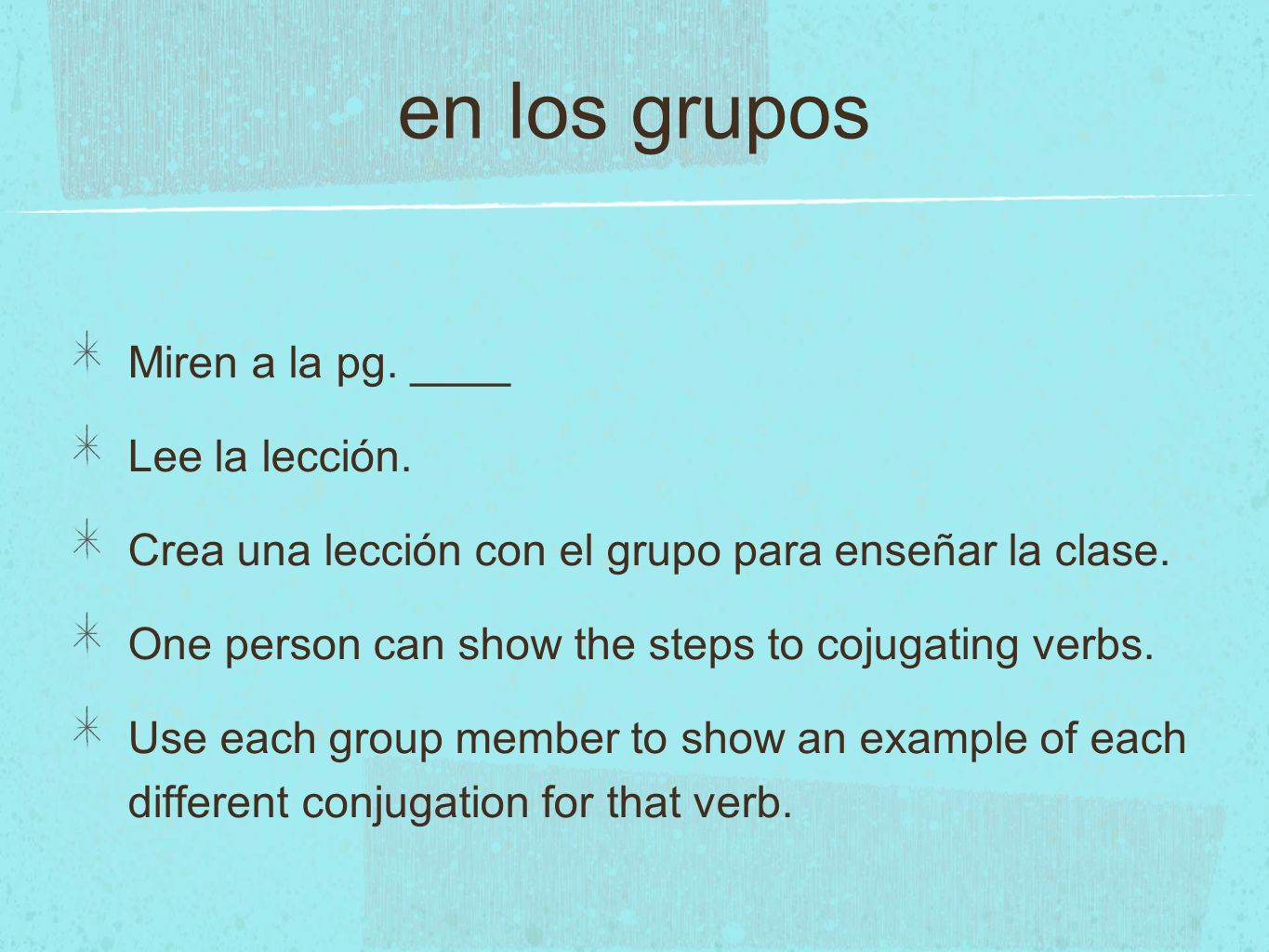 Leccion Read part one of pg 138 and answer the questions or commands.