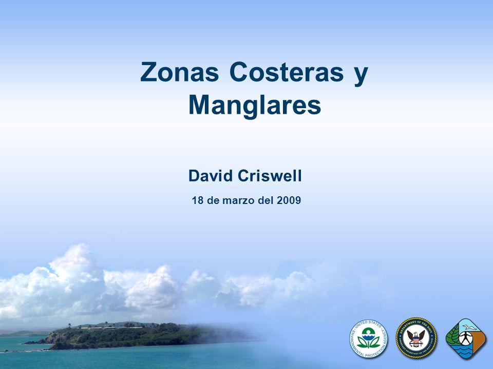 Zonas Costeras y Manglares David Criswell 18 de marzo del 2009