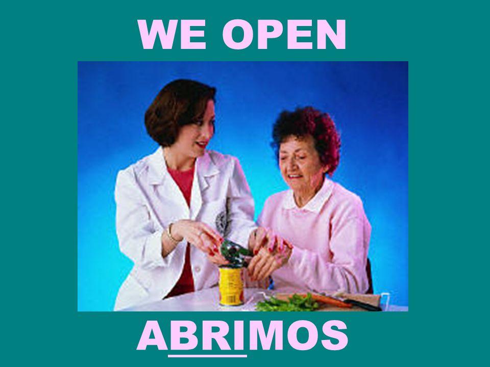 WE OPEN ABRIMOS