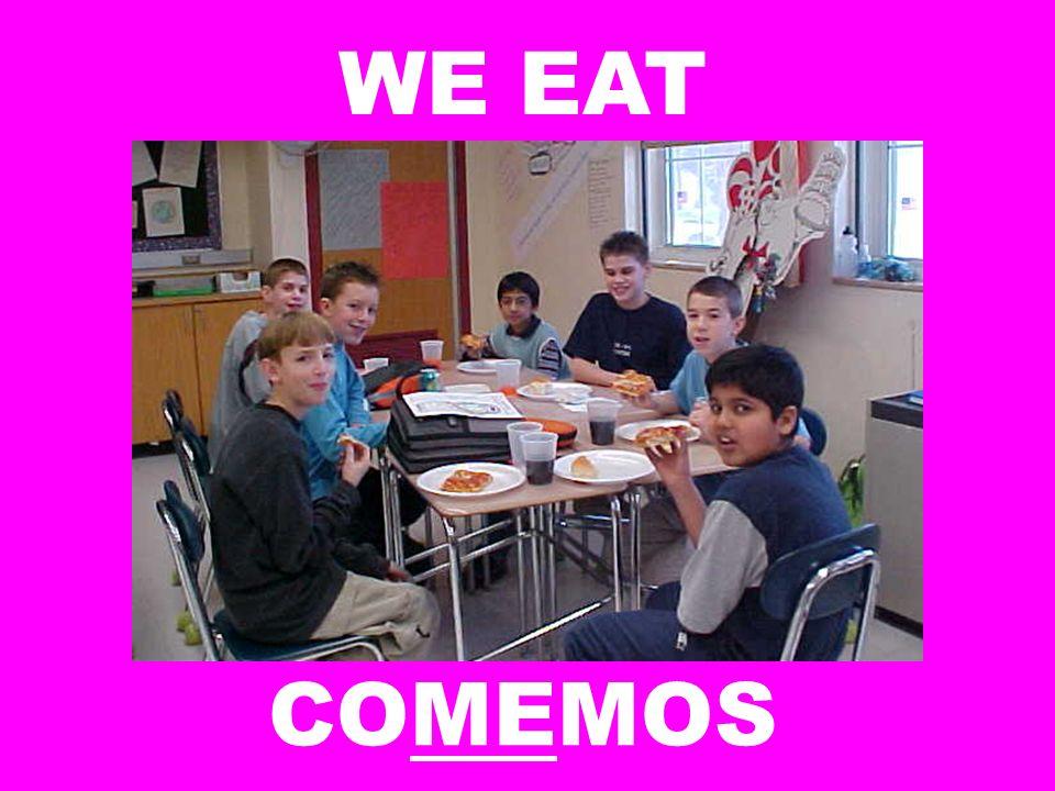WE EAT COMEMOS