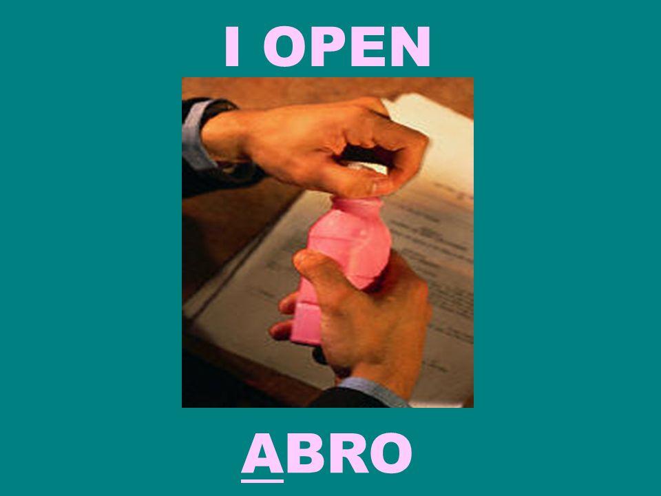 I OPEN ABRO