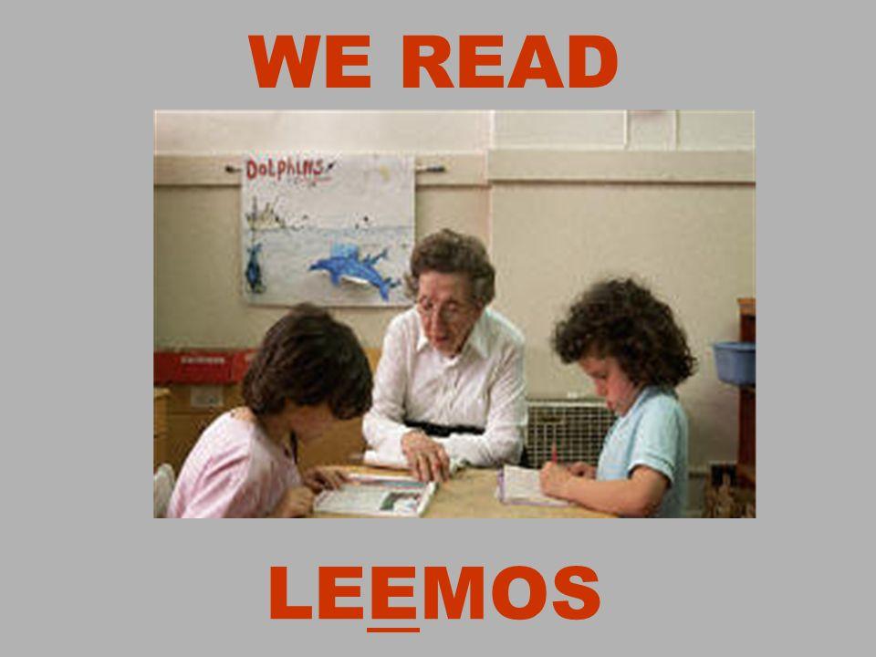 WE READ LEEMOS