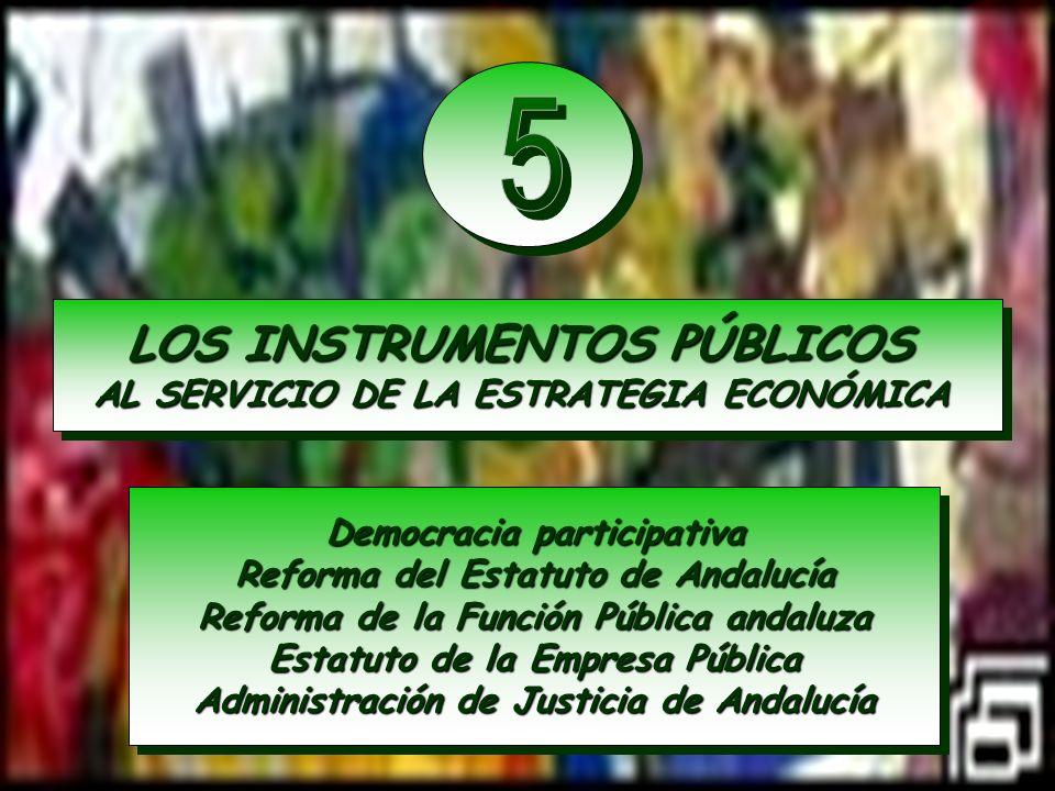 LOS INSTRUMENTOS PÚBLICOS AL SERVICIO DE LA ESTRATEGIA ECONÓMICA LOS INSTRUMENTOS PÚBLICOS AL SERVICIO DE LA ESTRATEGIA ECONÓMICA Democracia participa