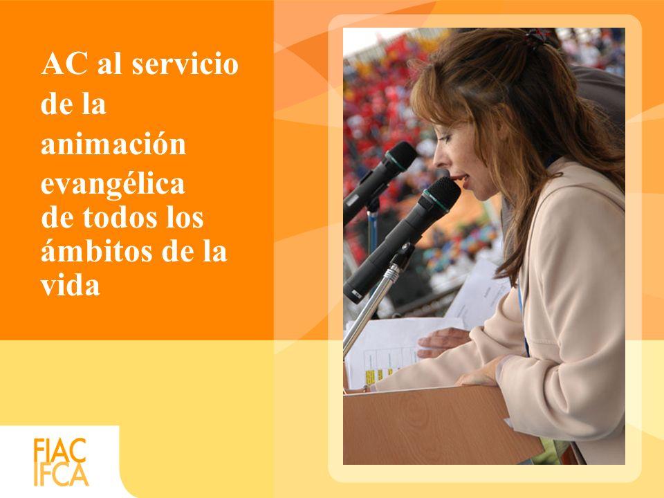 AC al servicio de la animación evangélica de todos los ámbitos de la vida