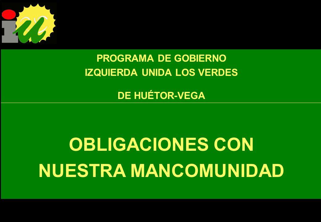 IU apuesta por un Huétor-Vega en el que la participación ciudadana sea una realidad en todos los niveles de la vida política y administrativa y en el