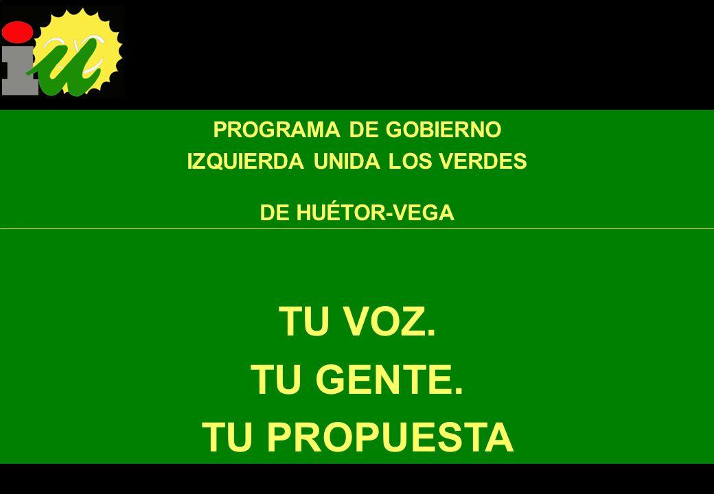 Como Huétor-Vega forma con Cájar, La Zubia y Monachil la Mancomunidad del Río Monachil, es intención de los cuatro grupos de IU trabajar de forma manc