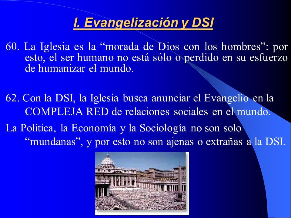 I.Evangelización y DSI 60.