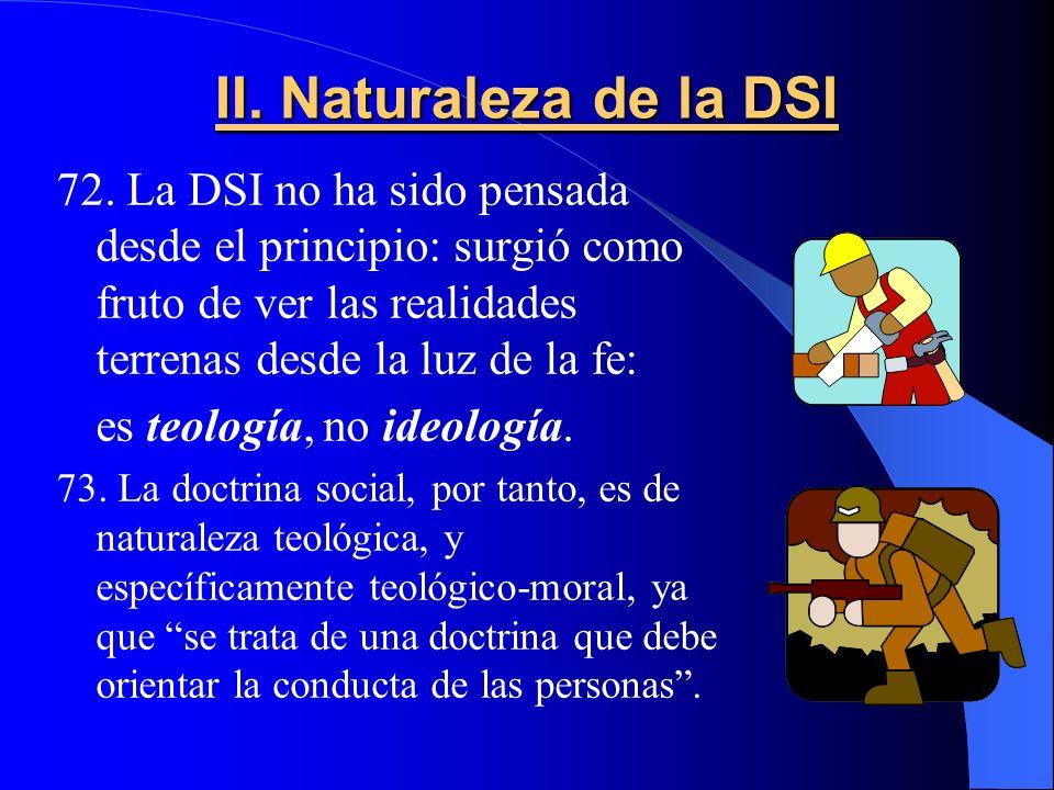 II.Naturaleza de la DSI 72.