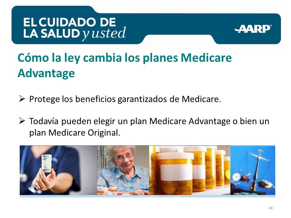 # Protege los beneficios garantizados de Medicare.