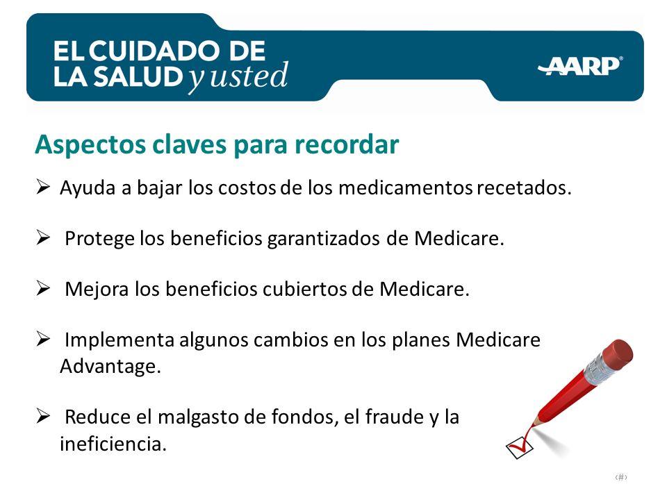 # Ayuda a bajar los costos de los medicamentos recetados.