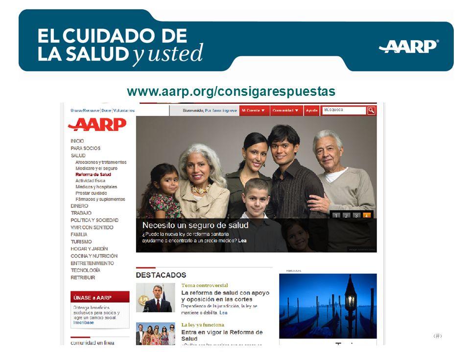 # www.aarp.org/consigarespuestas