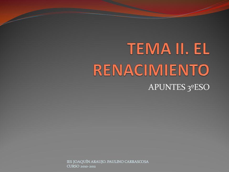 APUNTES 3ºESO IES JOAQUÍN ARAUJO. PAULINO CARRASCOSA CURSO 2010-2011