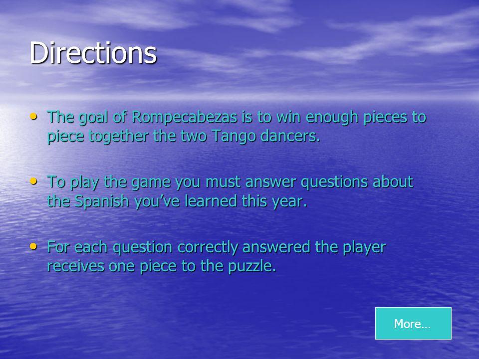 Todas estas palabras son partes de la cabeza con la excepción de… A) La boca B) El ojo C) La nariz D) El pie NEXT QUESTION