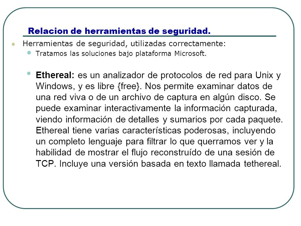 Relacion de herramientas de seguridad.Achilles : Un proxy de ataques por web para Windows.