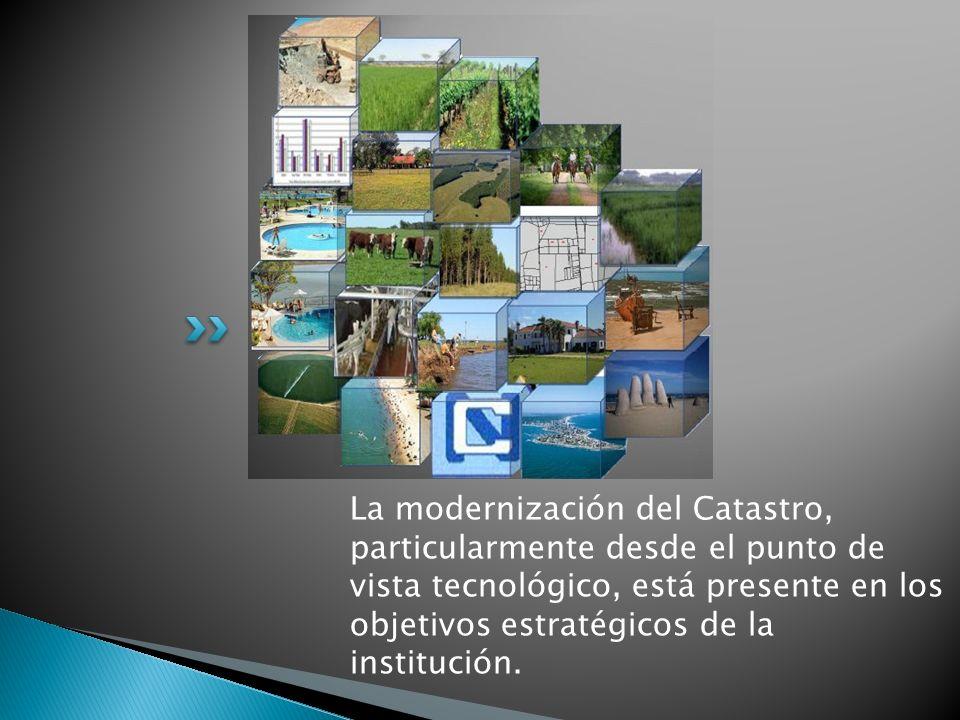 La modernización del Catastro, particularmente desde el punto de vista tecnológico, está presente en los objetivos estratégicos de la institución.