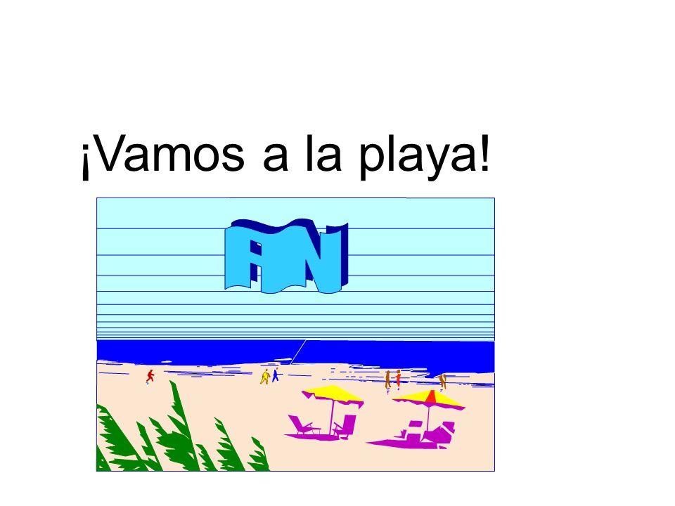 ¡Vamos a la playa!