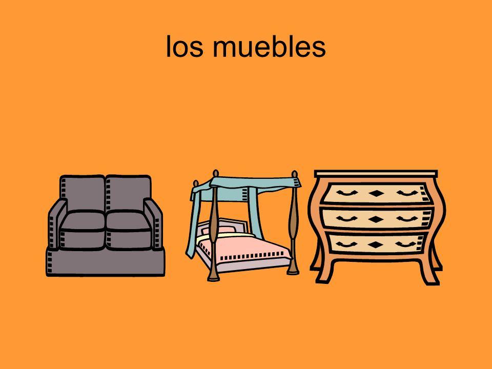 los muebles