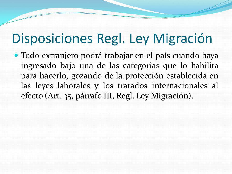 Disposiciones Regl.