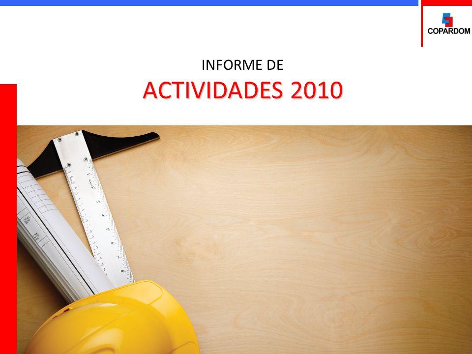 VIII Congreso COPARDOM sobre Administración de Riesgos Laborales Objetivo: Continuar estimulando la implementación de programas de salud y seguridad en el trabajo que permitan reducir la siniestralidad de las empresas y en consecuencia mejoren la eficiencia y productividad de las mismas.
