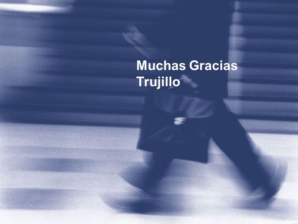 Muchas Gracias Trujillo