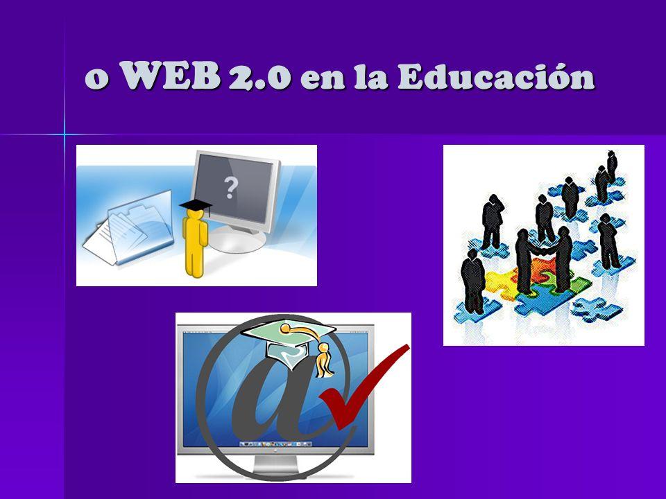o WEB 2.0 Software propietarioSoftware propietario Función: difundir informaciónFunción: difundir información Software gratuito para el usuarioSoftware gratuito para el usuario Función: producir, diseñar, construir y compartir información en diferentes soportes.Función: producir, diseñar, construir y compartir información en diferentes soportes.
