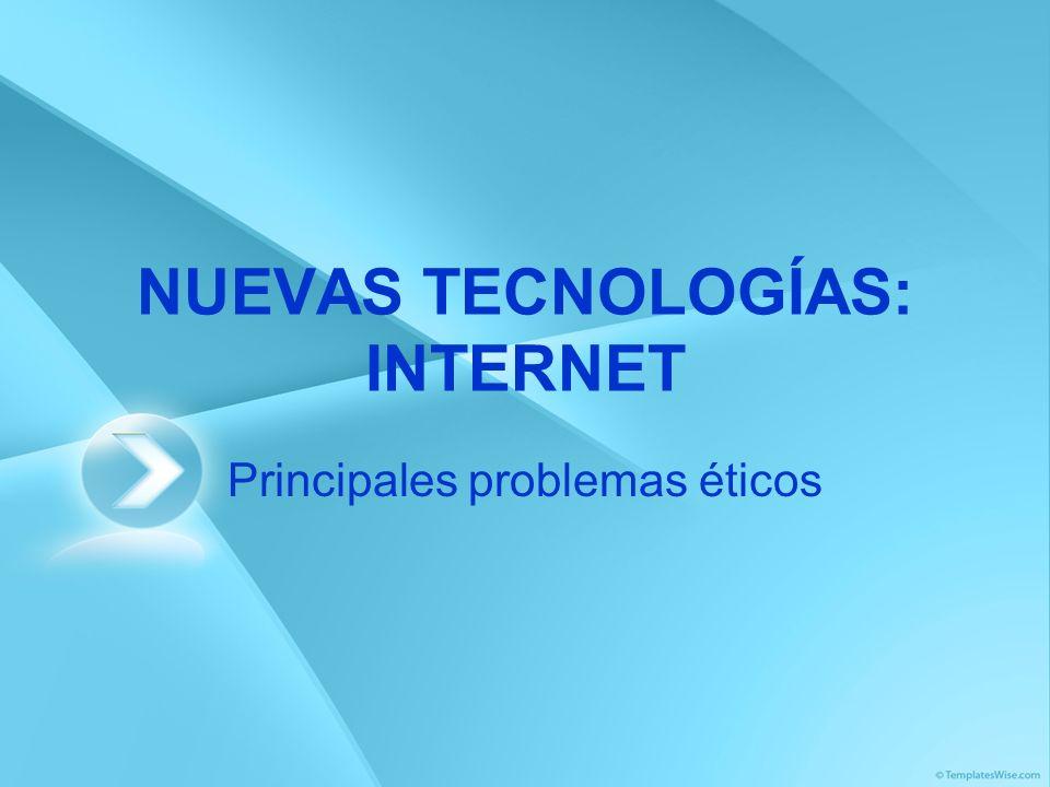 Acceso desigual a la información Distribución del acceso a Internet por áreas geográficas